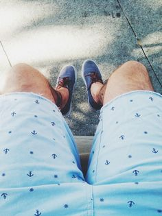 Anchor Chino Shorts/Spring Menswear Style