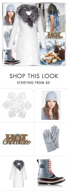 """""""Introducing the 2015 Winter Collection from SOREL: Contest Entry"""" by yours-styling-best-friend ❤ liked on Polyvore featuring SOREL, White Label, Dot & Bo, MICHAEL Michael Kors, Jaeger and Diane Von Furstenberg"""