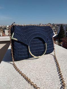 Crochet Tote, Crochet Handbags, Crochet Purses, Crochet Shoulder Bags, Net Bag, Summer Bags, Casual Bags, Casual Outfits, Knitted Bags