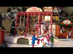 This 2016 Lemax Table Accent will make a perfect addition to the Carnival range, but it will fit in just as well in any Park scene, Winter or Summer. Christmas Villages, Boats, Boating, Ships, Boat, Ship
