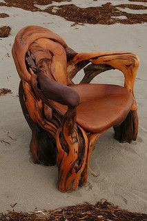 cedar driftwood chair | Jeffro Uitto
