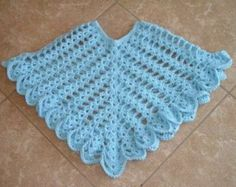 Baby poncho free pattern crochet for children baby poncho daisy garden crochet poncho pattern dt1010fo