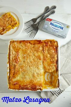 Butternut Squash Matzo Lasagna Recipe