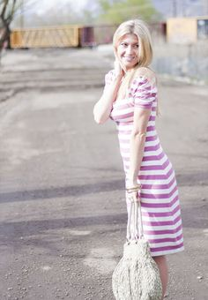 Elle Apparel: lavender love dress