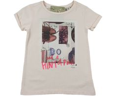 Scotch R' Belle Junior Girls Pale Pink Accessories Print 'Hint Of Pink' Top