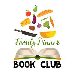 A cool idea for a family of book nerds, which I plan to have. Over 26 Family Dinner Book Club ideas together. Themed menus, table crafts for families, question prompts, and family service projects ideas included for FREE. Book Club List, Book Club Books, Book Nerd, Book Clubs, Literacy Skills, Literacy Activities, Early Literacy, Reading Incentives, Summer Reading Program