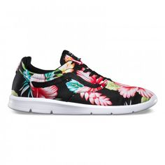 Vans Iso 1.5 Shoes (Hawaiian Floral) Black/White