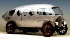 1914 model car Alfa Romeo 40-60hp Aerodinamica