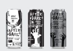 Energy drink / AFTER DARK on Behance