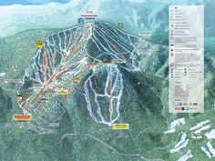 Northstar-at-Tahoe Ski Trail Map - 100 Northstar Drive Truckee CA 96161 • mappery