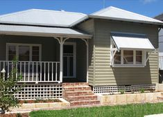 A recent installation of Timber Window Awnings in North Perth Commercial Umbrellas, Timber Windows, Outdoor Ideas, Outdoor Decor, Window Awnings, Exterior Paint Colors For House, Dream Houses, Perth, Trellis