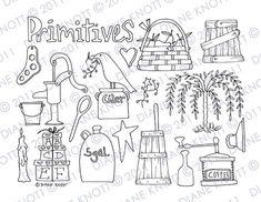 Primitive motifs