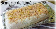 Semifrío de limón o la tarta más rápida del mundo