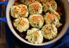 Guinness Irish Stew with Parsley Dumplings