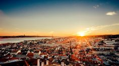 Lisbon is Portugal's biggest city and its capital, and for good reason too. Week End Romantique, Lisbon Restaurant, Nh Hotel, Cool Cafe, Portugal Travel, Portugal Trip, Four Seasons Hotel, Blog Voyage, Time Travel