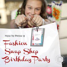 Teen Fashion Clothing Shop Party with Awesome Ideas via Kara's Party Ideas | KarasPartyIdeas.com #Fashion #ClothingSwap #Party #Ideas #Supplies (5)