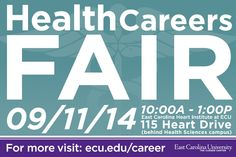 Over 40 employers from the health service industry will be on campus recruiting ECU students