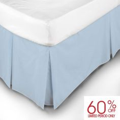 "<p>Easy Care Box Pleat Valances by Belledorm are excellent value for money.<p> <p>The smooth blend of cotton and polyester make this bed linen range look pristine with every wash.<p> <p>Little or no ironing required.<p>  <div class=""partofset""> Click here <a href=""/belledorm-polycotton-bed-linen.html"">Easy Care Polycotton Bed Linen</a> to view all of the items in this range. </div>"