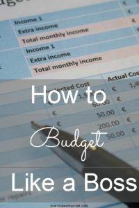 Detailed Budget Building Basics