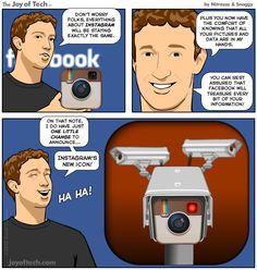 Zuck Tweaks Instagram (Comic)