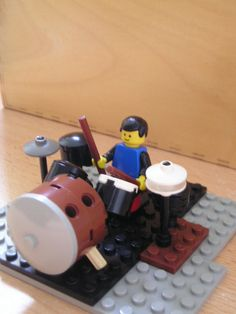 Lego Drum Set