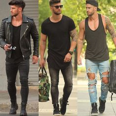 Hot guys! #mensstreetwear