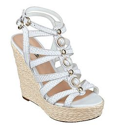 """Guess """"Onixx"""" Platform Wedge Sandals 