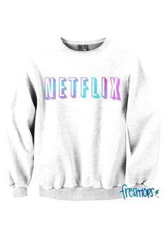 Net Crewneck from Fresh-Tops. Shop more products from Fresh-Tops on Wanelo. Cute Sweatshirts, Cute Shirts, Crewneck Sweaters, Hoodies, Fresh Tops, Ootd, Rock Revival Jeans, Cute Sweaters, Sweater Jacket