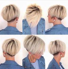 Frauen, die gerne einen kurzen BOB tragen würden, sollten sich unbedingt diese 10 tollen Beispiele anschauen! - Neue Frisur
