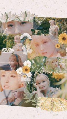 Aesthetic Themes, Kpop Aesthetic, Aesthetic Photo, Blackpink Twice, Twice Kpop, Nayeon, Goodbye Baby, Soft Wallpaper, Twice Fanart