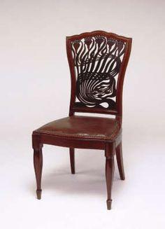 Macmurdo Art Nouveau chairs--He was one of the earliest Art Nouveau artists
