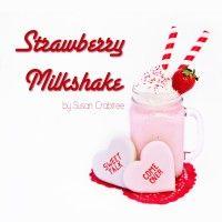 Adult Strawberry Milkshake with 2 Straws, Please! :) | Life Over IceLife Over Ice