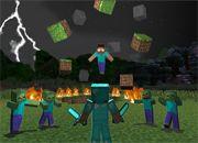 Minecraft Herobrine Puzzle 2