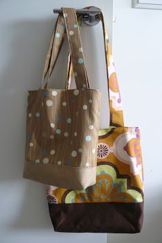Fat Quarter Tote Bag Tutorial