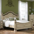 Liberty Furniture Harbor View II Poster Bed - Beds at Hayneedle