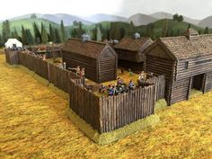 Flintlock and tomahawk: seven years war Queen Anne's War, Forte Apache, Seven Years' War, France 2, Old Fort, Canadian History, Military Diorama, Le Far West, Model Building