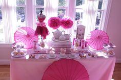 Pink Tea Party #tea #party