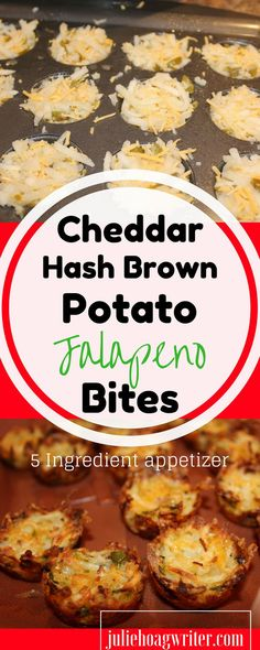 his recipe is absolutely the best! It is so easy and so good. You will want to make this one over and over again. It requires only five ingredients, a mini muffin pan, and cooking spray. If you love spicy food like I do, you will love this recipe. Cheddar