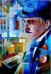 A felicidade exige valentia. - Fernando Pessoa - Lisboa no Guiness Rembrandt, Colorful Drawings, Art Drawings, Non Plus Ultra, I Love Books, Art Festival, Beautiful Artwork, Art Education, Creative Art
