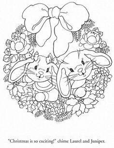 "from ""Julie's Journey Visiting Friends"" coloring book:"