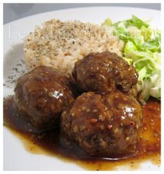 Meatball Recipes, Meat Recipes, Low Carb Recipes, Yummy Recipes, Recipies, How To Cook Meatballs, How To Cook Beef, Viria, Minced Meat Recipe