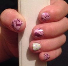 """SJamberry Nail Wraps -  """"Star Crossed Confetti"""" Mommy & Me Jamberry Juniors item#A620  Order yours here today: http://lalam.jamberrynails.net/"""