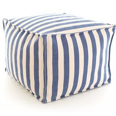 You will love the fun and style this pouf adds to your child's bedroom or playroom! Perfect for sitting while reading or watching movies, this pouf can also be brought outdoors for some added comfort during playtime