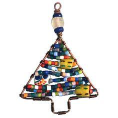 Beaded Tree Ornament Rainbow - Global Mamas (H)