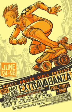 So syched at the possibility of being able to participate - ECDX Roller Derby Convention hosted by Philly Roller Girls