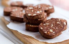 #paleo Macadamia Chocolate Cookies: 1 cup raw macadamia nuts; ¼ cup coconut flour; ¼ cup almond meal; 1 egg; 4 tbsp coconut oil, melted; 2 tbsp cocoa baking powder, unsweetened; 2 tbsp coconut syrup or 2 tbsp maple syrup or honey; ¼ cup water  1/2 tsp gluten free baking powder  A pinch salt