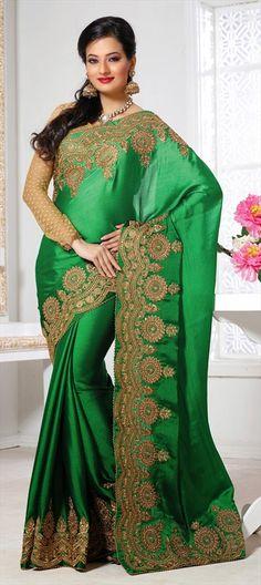 #saree #emerald #green partywear