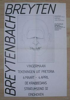 Breyten Breytenbach # VINGERMAAN # 1980, nm+
