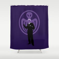 RED GRANT Shower Curtain @ http://society6.com/vectorvectoria/red-grant_shower-curtain#35=287