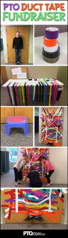 How To Do a PTO Duct Tape Fundraiser - PTO Today